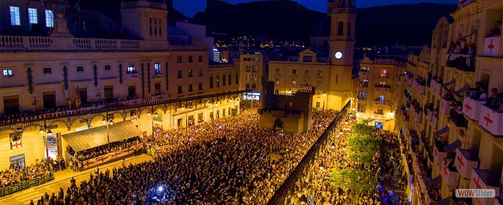Fiestas de Moros y Cristianos Alcoy 2019