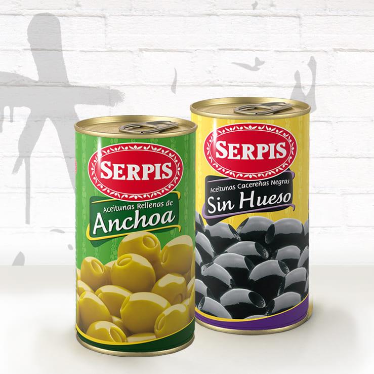 Aceitunas Serpis