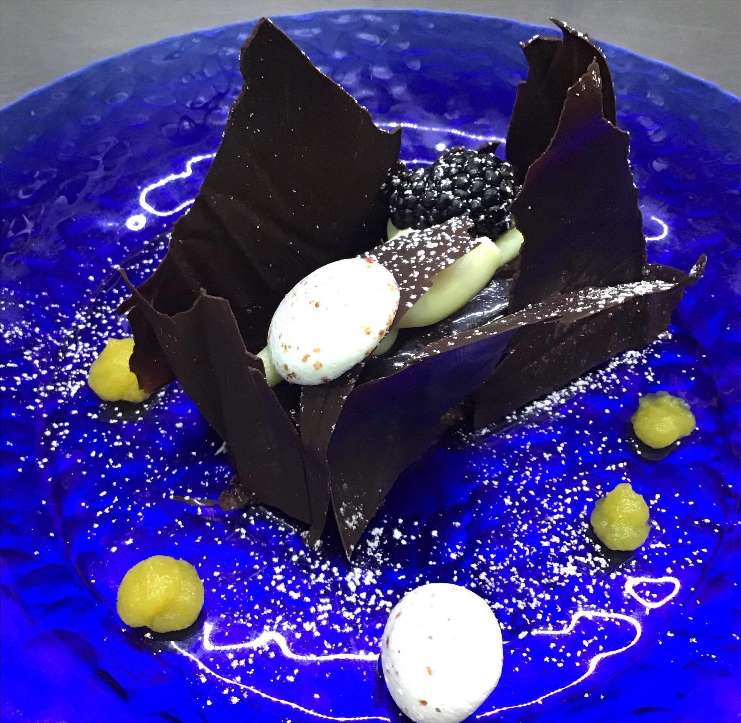 chocolate dessert bamboo restaurant alcoy