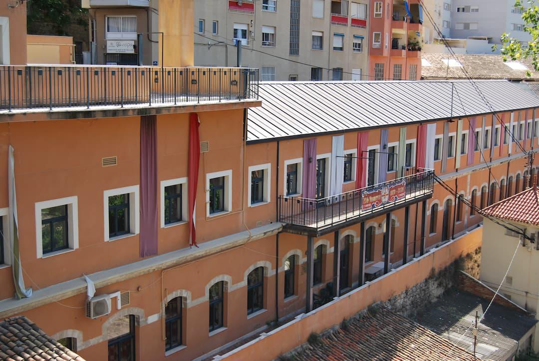 exterior of the row navarros de alcoy