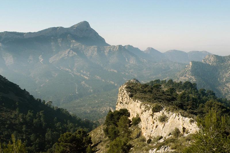 Montaña Alicante Interior